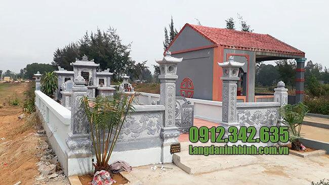 Mẫu khu nhà mồ đẹp hiện đại ở Sóc Trăng