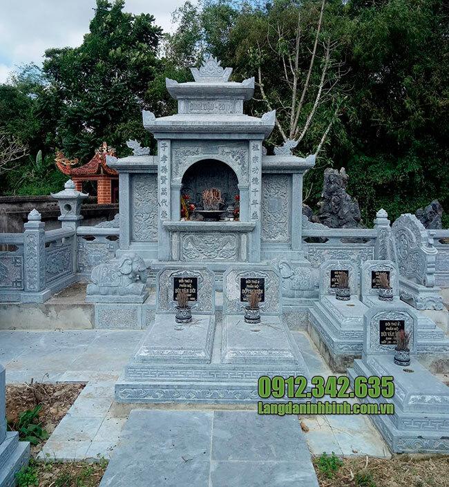 Mẫu kiểu khu nhà mồ bằng đá đẹp ở Tây Ninh