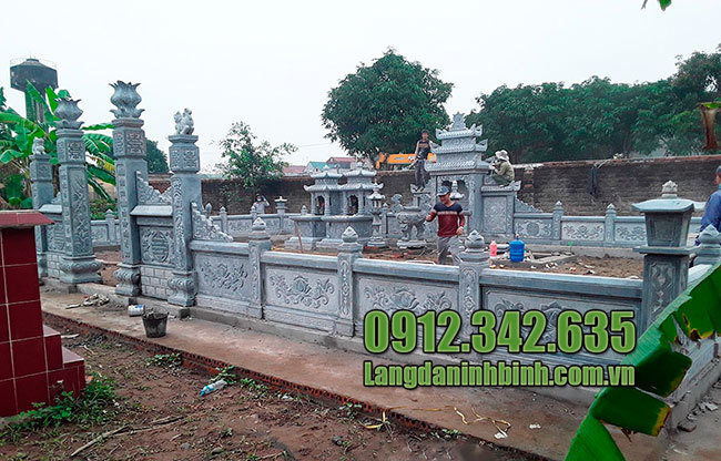 Ảnh nghĩa trang gia đình