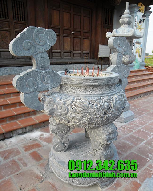 Bán lư hương bằng đá uy tín, chất lượng cao, lư hương thờ cúng