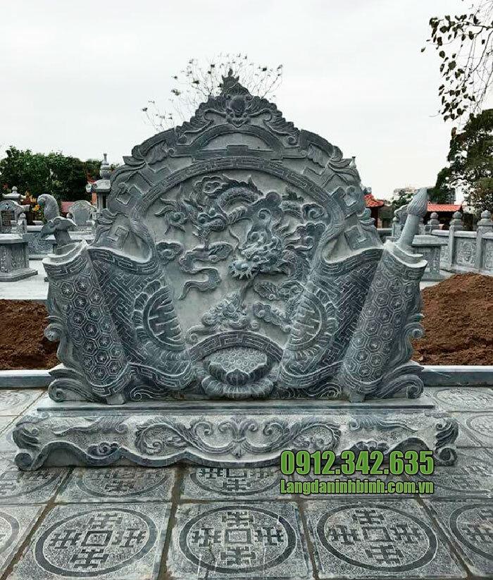 Cuốn thư đá nghĩa trang