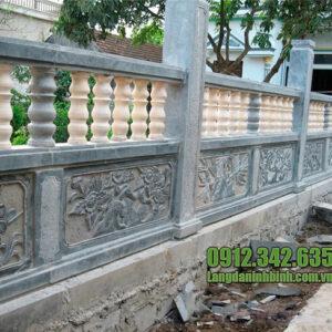 Hình ảnh hàng rào đá đẹp nhất tại Đá mỹ nghệ Ninh Bình