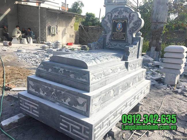 Kích thước mộ đá xanh, kích thước mộ đá, kích thước mộ, kích thước mộ chuẩn phong thủy, kích thước mộ đá xanh chuẩn phong thủy