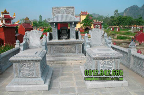 Lăng mộ đá 1 mái Ninh Vân