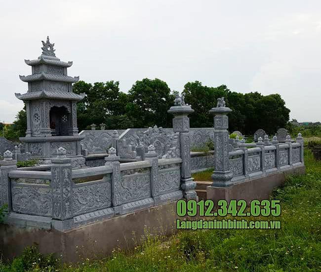Lăng mộ đá gia tộc đẹp