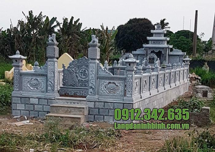 Lăng mộ đá tâm linh ninh vân đẹp