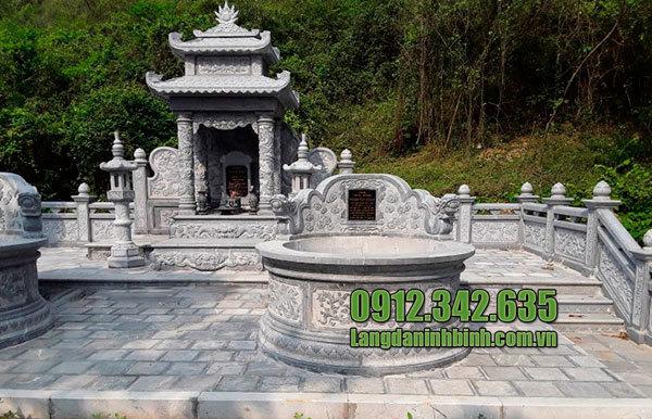 Lăng mộ đá tròn Ninh Bình