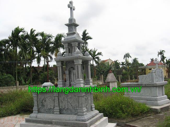Mẫu mộ đá công giáo đẹp nhất