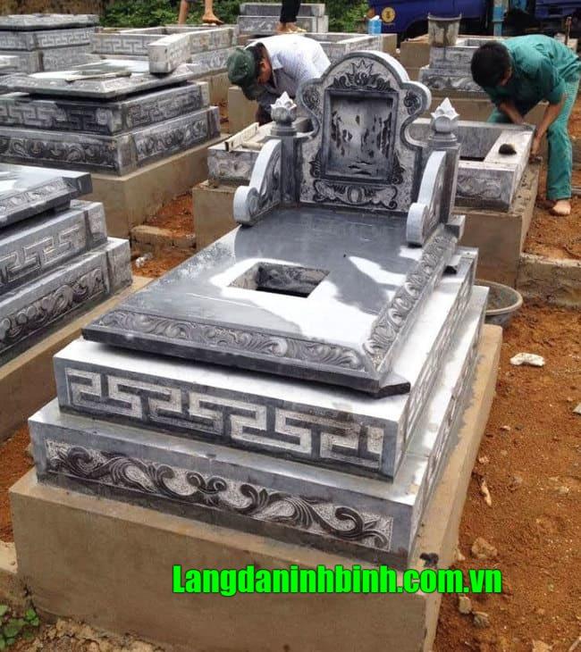 Mẫu mộ tam cấp đẹp