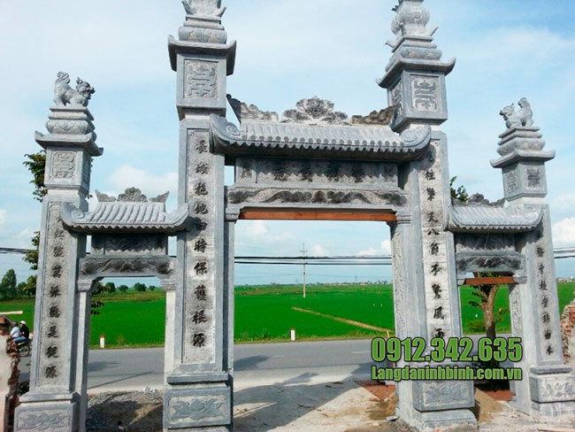 Mẫu cổng nhà thờ tộc đẹp