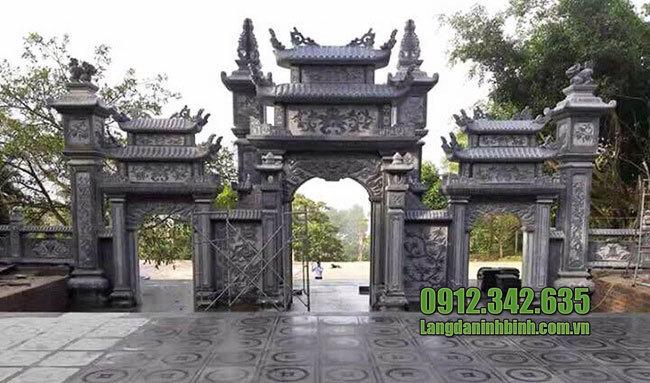 Mẫu cổng tam quan đẹp
