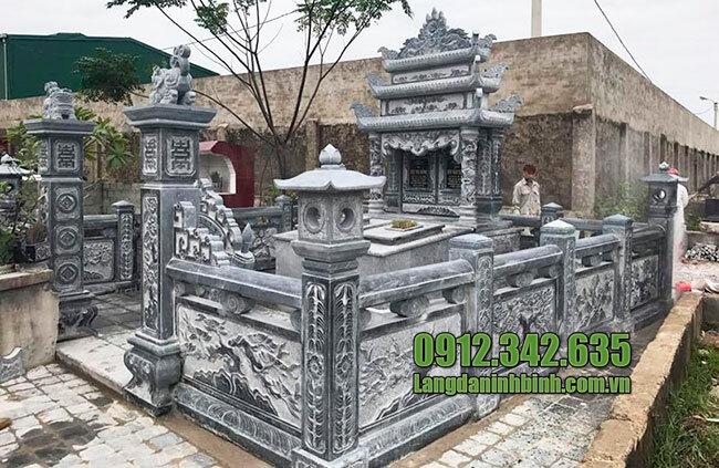 Mẫu khu nhà mồ bằng đá đẹp ở Đồng Tháp
