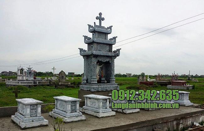 Mẫu lăng mộ đá công giáo