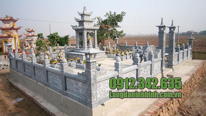 Mẫu lăng mộ đá tâm linh