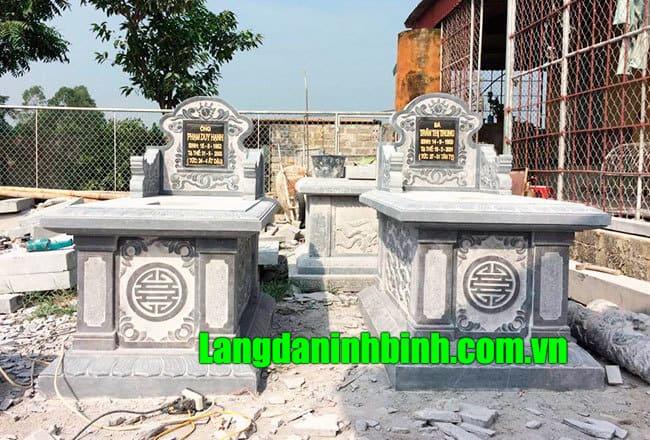 Mẫu mộ bành đẹp