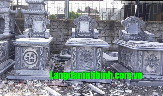 Mẫu mộ tam sơn đá, mẫu mộ đá hậu bành