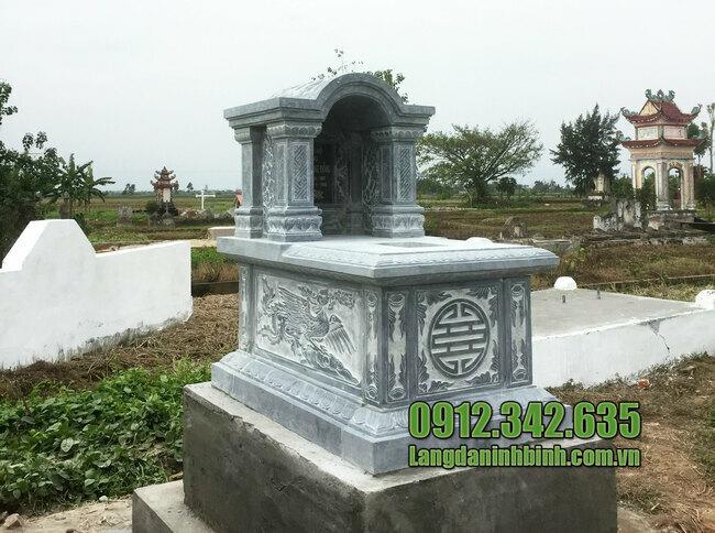 Mẫu mộ vòm đá xanh