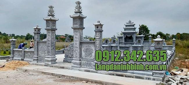 Nghĩa trang dòng họ đẹp