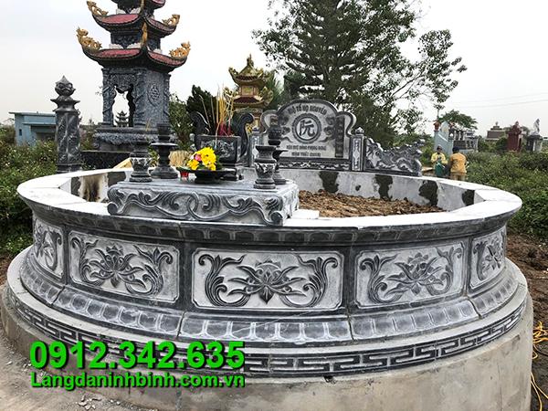 Kích thước xây mộ tròn theo phong thủy