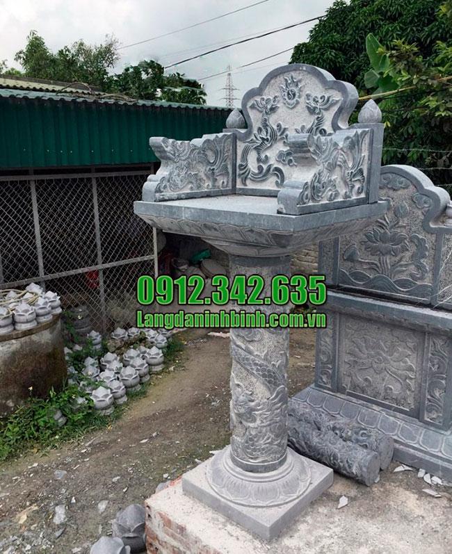 Báo giá bán bàn thờ thiên cây hương đá ngoài trời