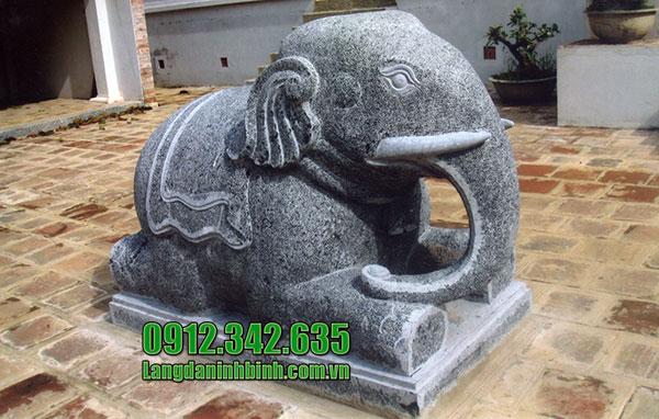 Voi đá đẹp của Đá mỹ nghệ Ninh Bình