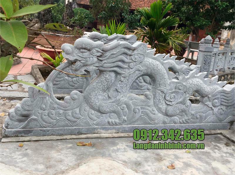 Giá tượng rồng bằng đá
