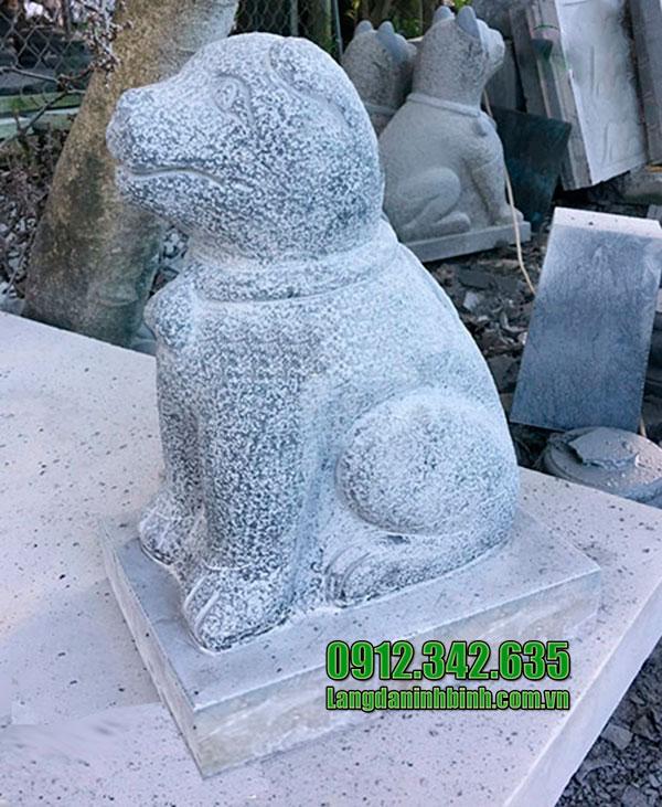 Nơi bán tượng chó bằng đá phong thủy giá tốt