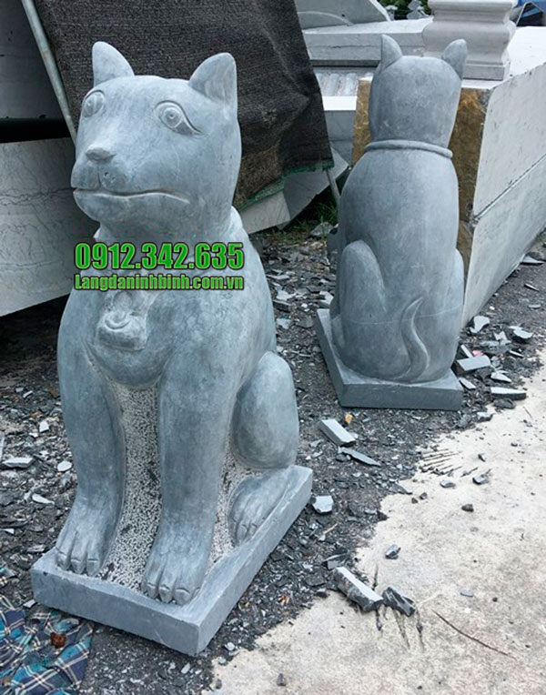 Tượng chó đá - Bán tượng chó đá phong thủy chất lượng giá rẻ