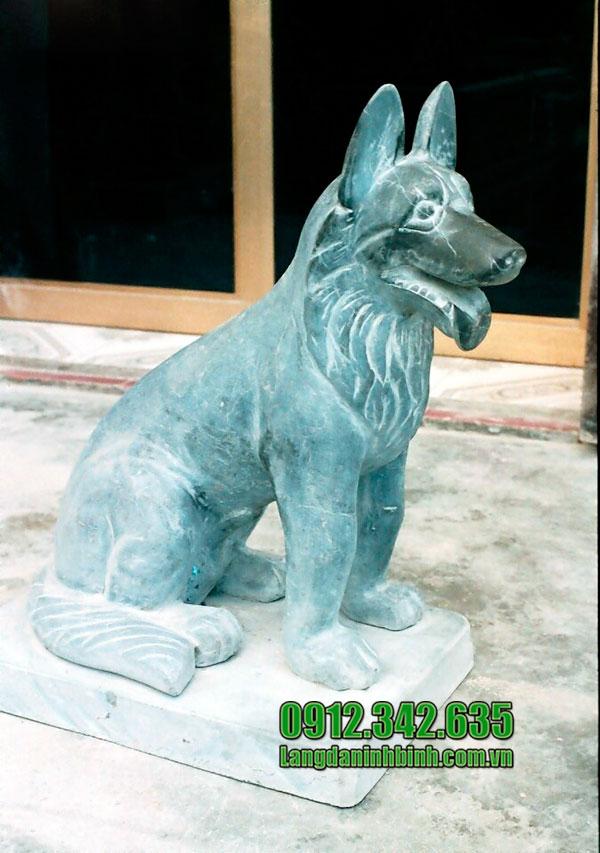 Ý nghĩa của tượng chó đá trong phong thủy