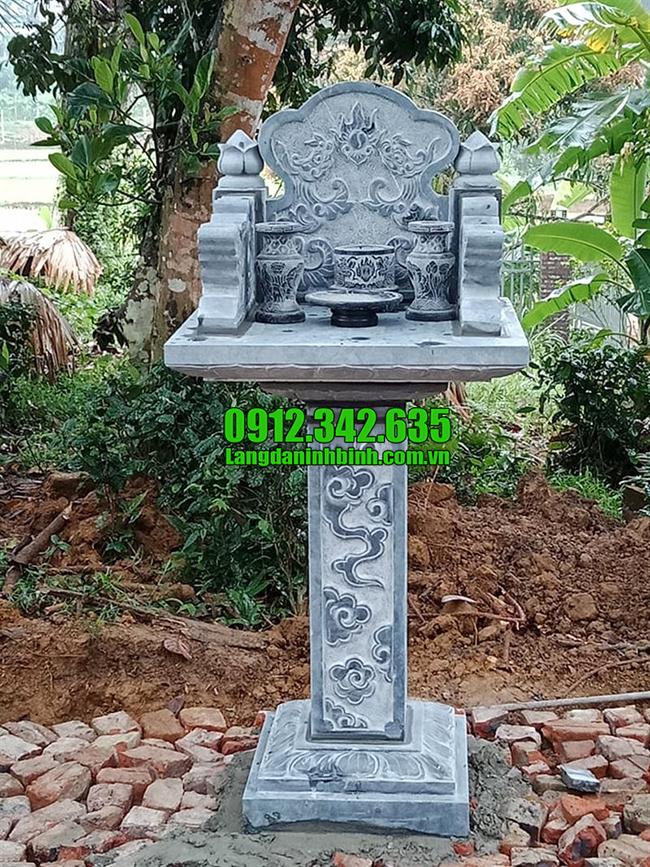 Cây hương nghĩa trang bằng đá đẹp