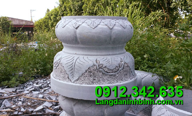 Chân cột bằng đá xanh giá rẻ