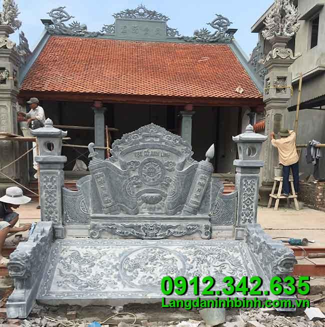 Cuốn thư bằng đá - Công đức vào chùa, đình, đền, nhà thờ họ