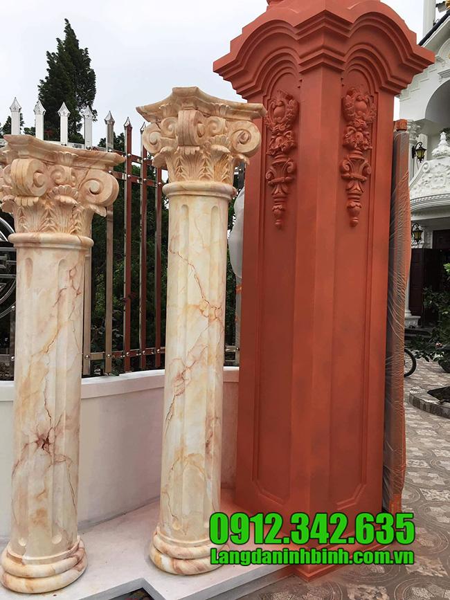 Mẫu cột nhà biệt thự đẹp