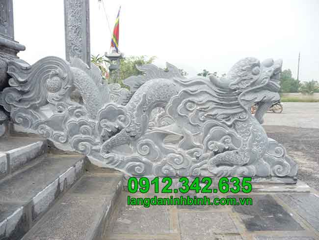 Rồng bằng đá - Công đức vào chùa, đình, đền, nhà thờ họ
