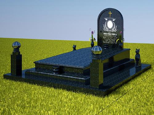 Bia mộ công giáo đẹp
