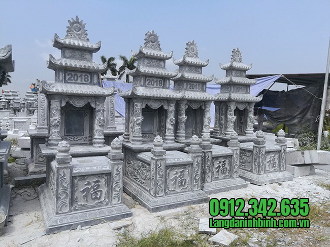 Giá mộ đá nguyên khối