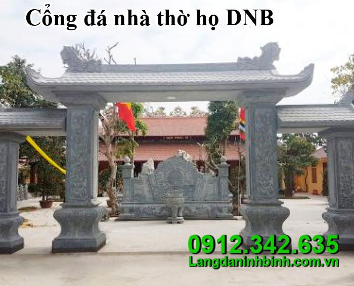 Cổng đá nhà thờ họ DNB01