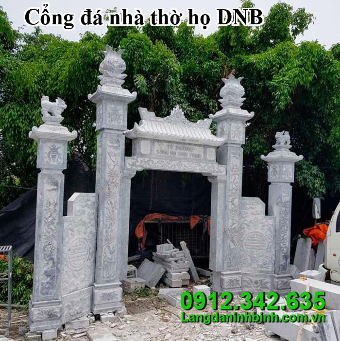 Cổng đá nhà thờ họ DNB010