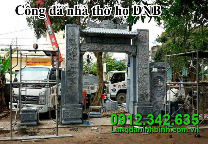 Cổng đá nhà thờ họ DNB011