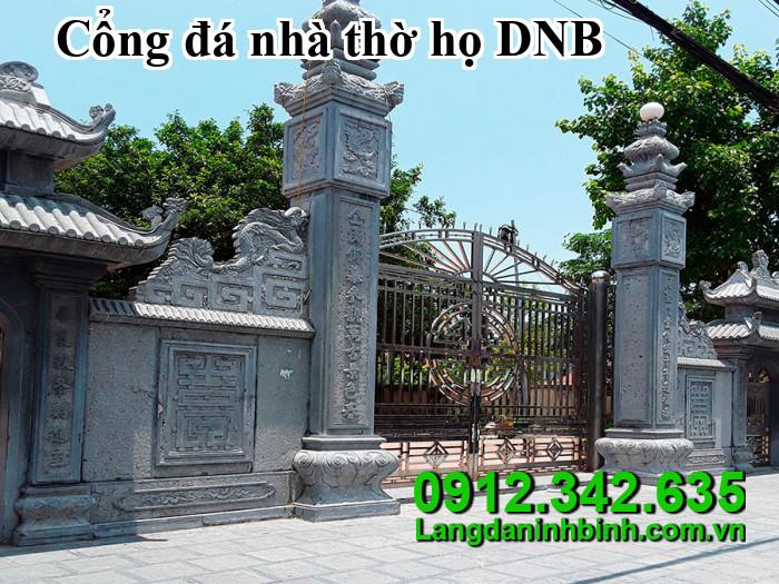 Cổng đá nhà thờ họ DNB013