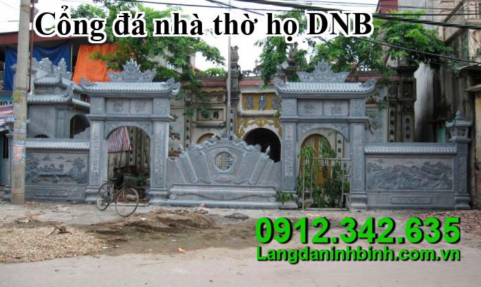 Cổng đá nhà thờ họ DNB02