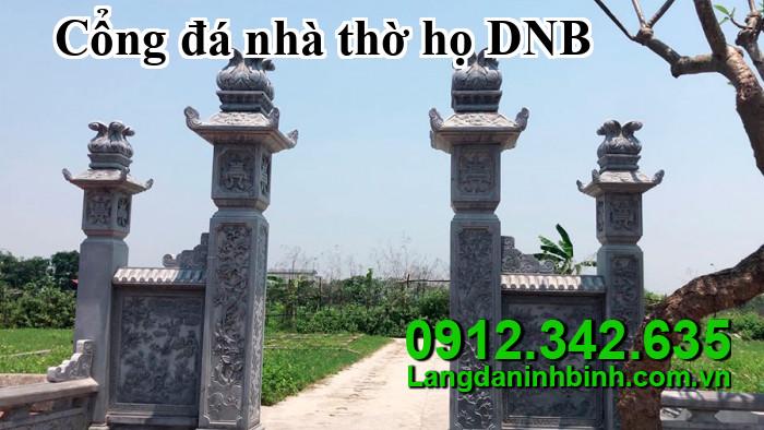 Cổng đá nhà thờ họ DNB05