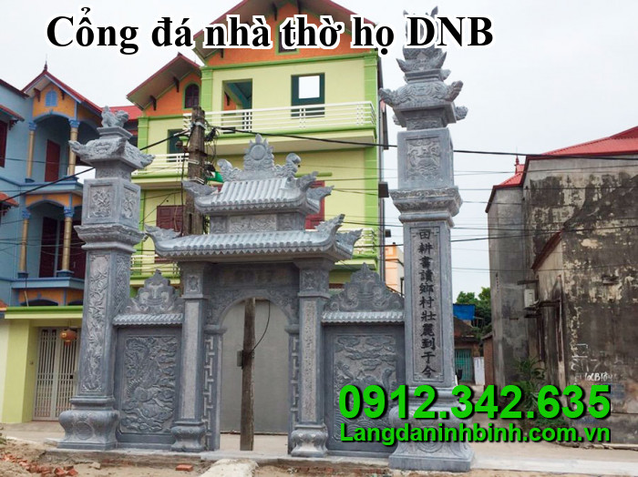 Cổng đá nhà thờ họ DNB06