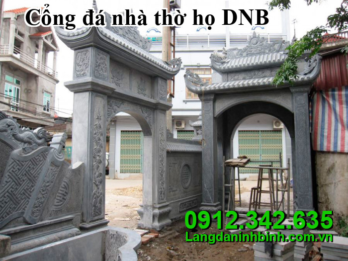 Cổng đá nhà thờ họ DNB07