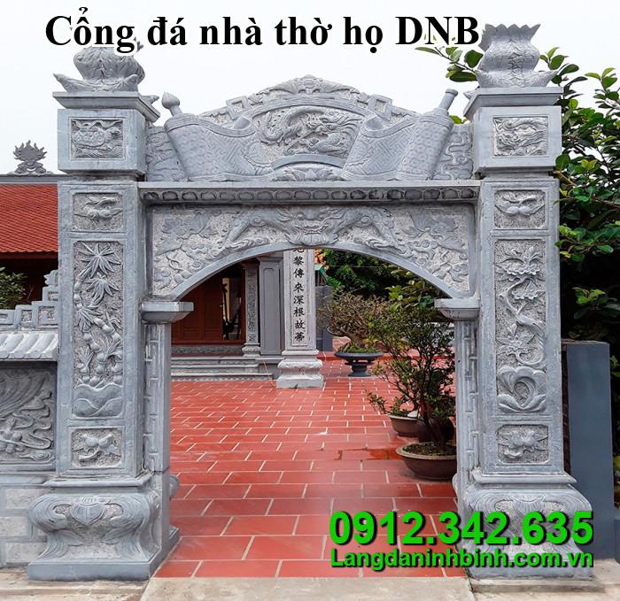 Cổng đá nhà thờ họ DNB08