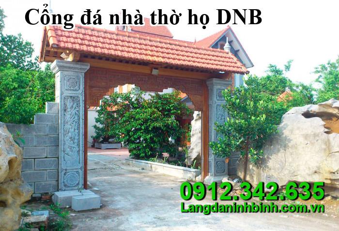 Cổng đá nhà thờ họ DNB09