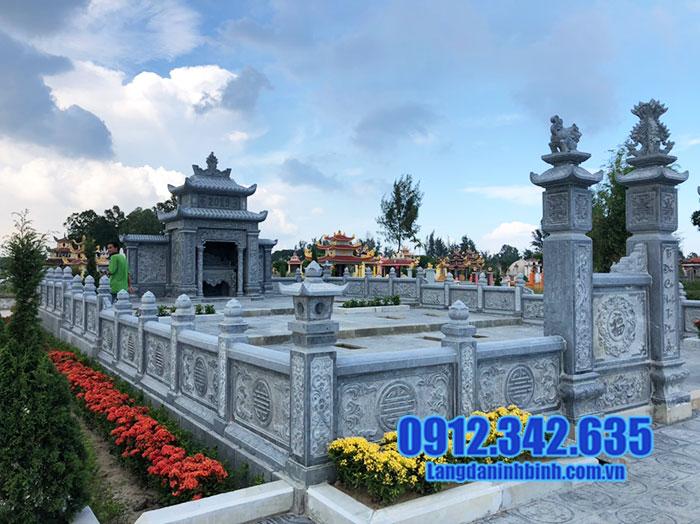 10 Hình ảnh lăng mộ đẹp bằng đá khối hoa văn chạm khắc tinh xảo