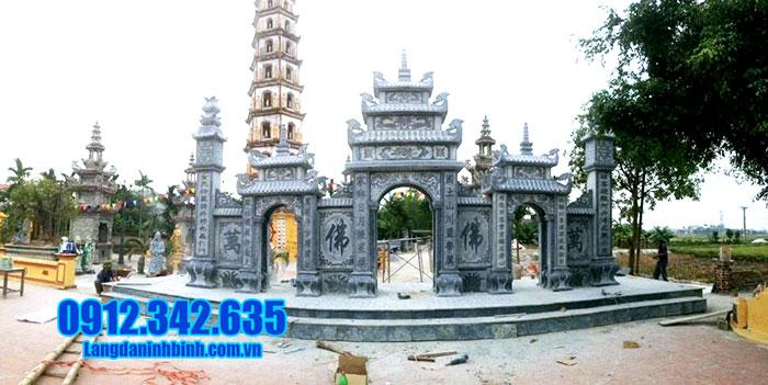 10 Hình ảnh cổng đền bằng đá của cơ sở Đá mỹ nghệ Ninh Bình