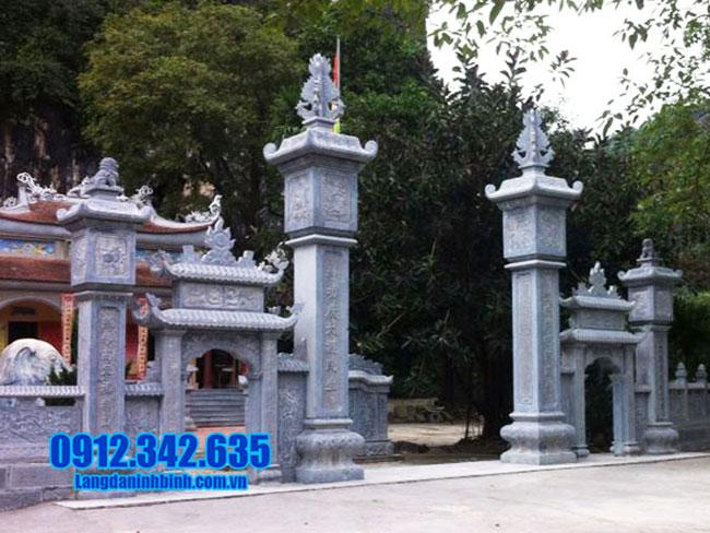 Tìm hiểu về cổng chùa Việt Nam bằng đá