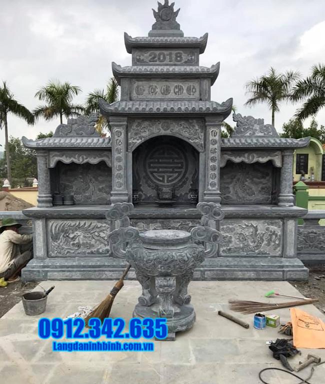 Cơ sở bán lăng mộ đá tại Ninh Bình uy tín mẫu đẹp, chạm khắc tinh xảo